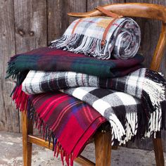 Tartan Blankets | Stay cozy with the changing of seasons.