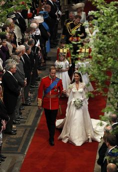 Kate Middleton wedding to Prince William - Royal Wedding