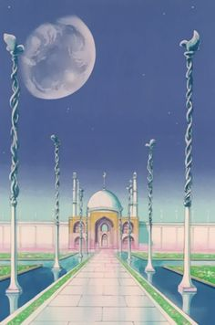 Sailor Moon Scenery
