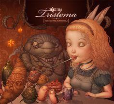 DigipakforTristema  Artwork for italian band Tristema