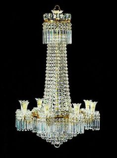 The most expensive antique chandeliers sold at auction pinterest chandelier english about 1810 museum of fine arts boston aloadofball Images