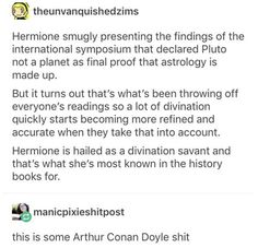 And hermione get SO annoyed Harry Potter Universal, Harry Potter Fandom, Harry Potter Memes, Slytherin, Hogwarts, No Muggles, Yer A Wizard Harry, Drarry, Mischief Managed