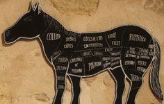 Cheval : histoire d'un tabou alimentaire  -  Après avoir été proscrite par le catholicisme, au XIXe la viande de cheval nourrira la population ouvrière et urbaine - qui ne cesse de croître du fait de l'industrialisation. En 1866, une ordonnance autorisera l'ouverture de boucheries chevalines.