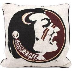 Florida State Seminoles (FSU) Pillow
