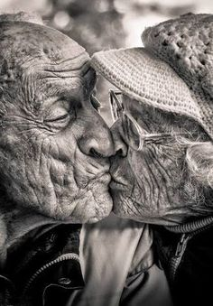 73 yrs of marriage, still smooching. | Don't take them for granted, or write…