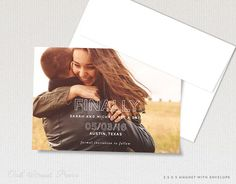 Photo Save the Dates Magnets Funny Save the Date von OakStreetPress