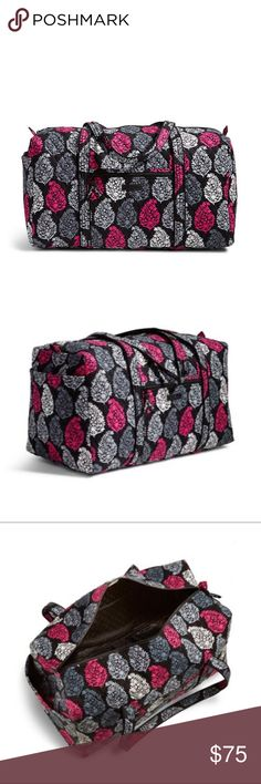 New Vera Bradley Duffel Bag New with tags Vera Bradley large duffel bag Vera Bradley Bags Travel Bags
