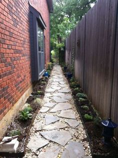 120+ simple rock walkway ideas to apply on your garden (106)