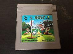 Golf Game Boy Japan Nintendo