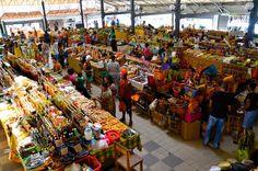 Le marché aux épices de Fort de France #Martinique