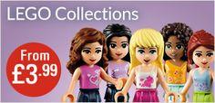 LEGO Collections from £3.99  #TBPLEGOShop #LoveLEGO #LEGOSavings