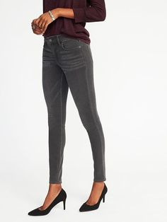 Old Navy Mid-Rise Secret-Soft Rockstar Jeans for Women