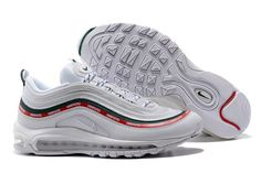 7a820729c8 New Arrival Undefeated x Nike Air Max 97 OG Sail and White-Gorge  Green-Speed Red Hot Sale