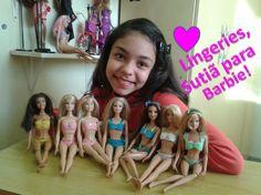 Como fazer  sutiã para Barbie