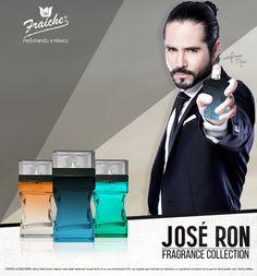 Colección de envases de José Ron. Jose Ron, Fragrance, Mexico, Collection, Mexico City, Perfume
