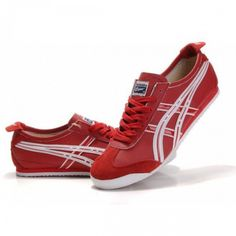2012 Asics Onitsuka Tiger Mexico 66 Mens Shoes Red White