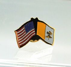 United States Vatican Catholic Friendship Lapel Pin . $3.95. This lapel pin is made of the best quality materials possible. They are made for many years of use. You will not be disappointed!
