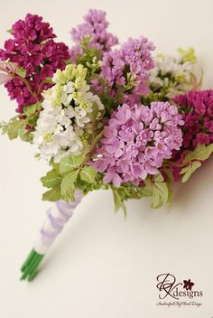 do a bouquet with just lilacs?