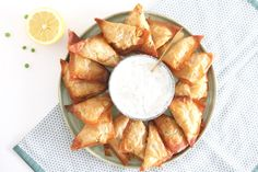 Samosa's met Griekse yoghurtdip – ZELF MAKEN