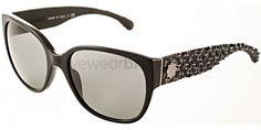 #Chanel CH 5237 Chanel CH5237 1403/3C Black/White Chanel Designer Sunglasses Glasses