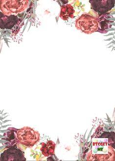 Цветочные Фоны, Фоновые Узоры, Обои Фоны, Обои, Приглашения На Помолвку, Свадебные Открытки, Пригласительные Открытки, Фотография Цветов