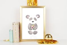 Panda nursery decor Animal nursery print Printable nursery wall art Baby Panda…