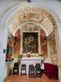 Places to visit around Milan (Italy): Church of San Damiano - the chapel dedicated to the Sacred Family