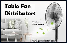 Getdistributors offers Consumer Electronics Distributors Business opportunities in Pan India. Companies looking for Distributorship of Table Fan distributors and many more. #TableFandistributors #TableFandistributorship #TableFanwholesaledealer #TableFandealers #distributor #distributorship #Manufacturers #Business Consumer Electronics, Home Appliances, Fan, Business Opportunities, India, Table, Home Decor, House Appliances, Goa India