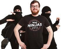 """Vote Ninjas!"" - Threadless.com - Best t-shirts in the world"