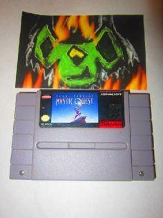Final Fantasy: Mystic Quest (Super Nintendo, 1992) Free Shipping