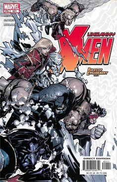Mutant Doodle • uncanny x-men #421 - cover by chris bachalo