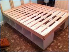 Queen Storage Bed Diy