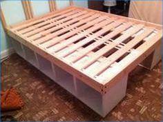 Queen Storage Bed Diy