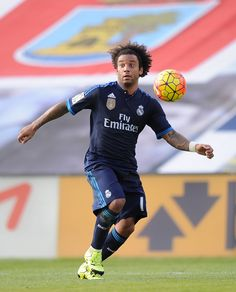 Marcelo of Real Madrid in action during the La Liga match between Celta Vigo and Real Madrid at Estadio Balaidos on October 24, 2015 in Vigo, Spain. (Oct. 23, 2015 - Source: Denis Doyle/Getty Images Europe)