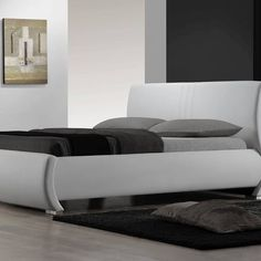 A platform bed has a base which consists of a raised, level horizontal solid frame, often with a section consisting of rows of flexible wooden slats or latticed structure meant to support just a mattress.