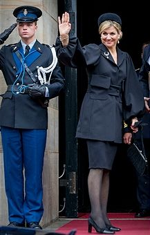 Queen Maxima of The Netherlands attendS the National Remembrance ceremony at the National Monument on Dam Square on May 04, 2017 in Amsterdam, Netherlands. The ceremony is held annually and commemorates all civilians and members of the armed forces of the Kingdom of the Netherlands who have died in wars or peacekeeping missions since the outbreak of World War