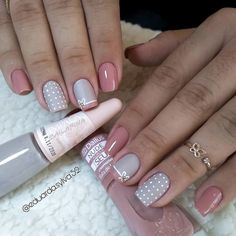 Image may contain: one or more people and closeup Funky Nails, Cute Nails, Pretty Nails, Gem Nails, Nail Manicure, Nail Art Designs, Special Nails, Nails Design With Rhinestones, Stylish Nails