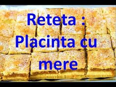 Placinta cu mere/reteta andreei/retetamea.eu - YouTube Youtube, Diy, Kuchen, Youtubers, Youtube Movies