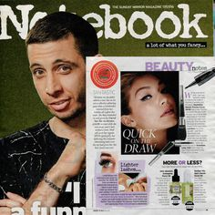 Notebook Magazine features UMA Absolute Anti Aging Face Oil: This ultra luxurious blend combines nature's most potent botanicals to reverse visible signs of aging and to transform damaged skin or dry skin.