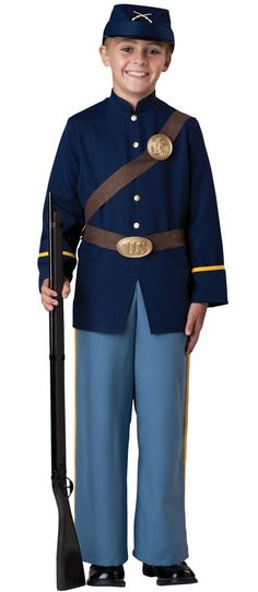 69fa8c8d5b8 Child s Civil War Union Soldier Costume