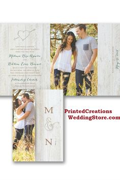 Trendy rustic themed invitations - wide variety of designs to complement you and your special celebration.  Shop these and many more rustic wedding invites at www.PrintedCreationsWeddingStore.com. #rusticwedding  #rusticweddinginvitations  #rusticweddinginvites  #rusticinvites  #rusticinvitations  #rusticinvitationswedding  #weddinginvitations  #invitationswedding #weddinginvites #inviteswedding #barnwedding