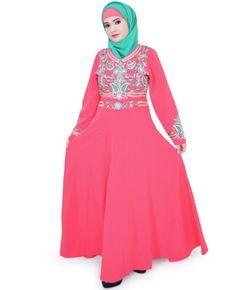 Eid-ul-Fitr 2016 Abaya Islamic Clothing Muslim Hijab on EID RAMADAN by zetzone