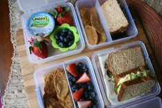lunch box ideas