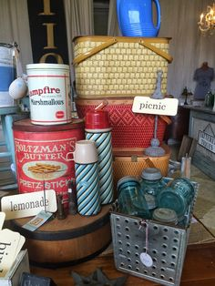 Tattered Tiques: Summer at the shop