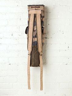 DIY Yoga bag ideas - two straps