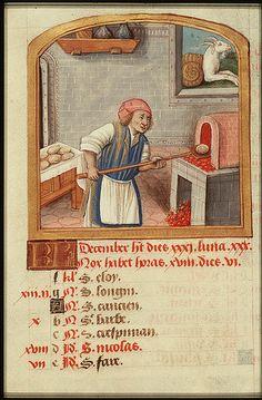 Late Medieval oven 1490-1500 by Vrangtante Brun, via Flickr