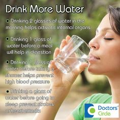 Surprise your liver:drink more water. An adult should have at least 3 liters of water everyday.How much did you have today?