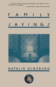 Family Sayings by Natalia Ginzburg, http://www.amazon.co.uk/dp/1611450926/ref=cm_sw_r_pi_dp_y04vrb1PX5K3G