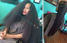 Hairstyles Capelli Medi Ceramic Phusion On 28 Inch Natural Hair - blackhairinformat. Indian Hairstyles, Weave Hairstyles, Pretty Hairstyles, Kid Hairstyles, Casual Hairstyles, Pelo Natural, Long Natural Hair, Blown Out Natural Hair, Natural Beauty