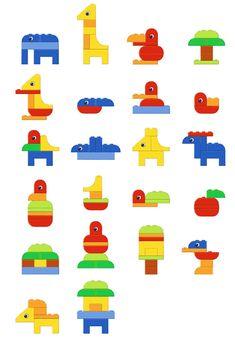 Тематический комплект скачать бесплатно для детей с героями Лего Дупло / lego duplo activity Art Activities For Toddlers, Lego Activities, Lego Games, Lego For Kids, Diy For Kids, Legos, Easy Lego Creations, Lego Therapy, Lego Challenge